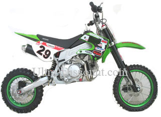 dirt bike agb29 125 ccm gr n typ 5 dirtbike 125 dirt. Black Bedroom Furniture Sets. Home Design Ideas