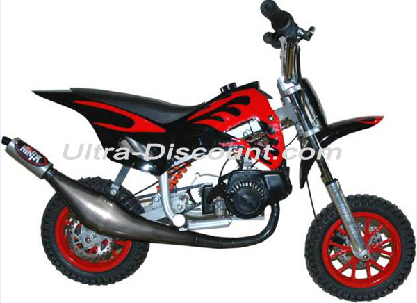 ud auspuff ninja f r pocket bike. Black Bedroom Furniture Sets. Home Design Ideas