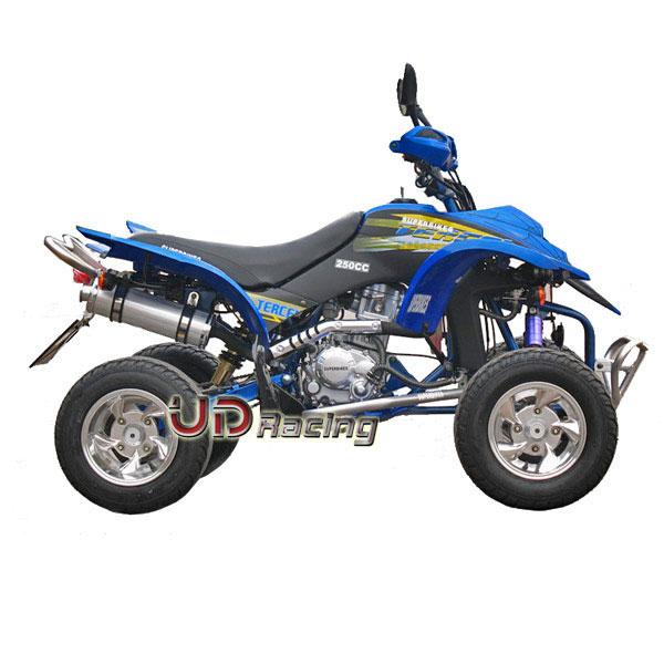 quad shineray racing 250 ccm blau quad shineray quad 200 250 300 ccm beschreibung ud. Black Bedroom Furniture Sets. Home Design Ideas