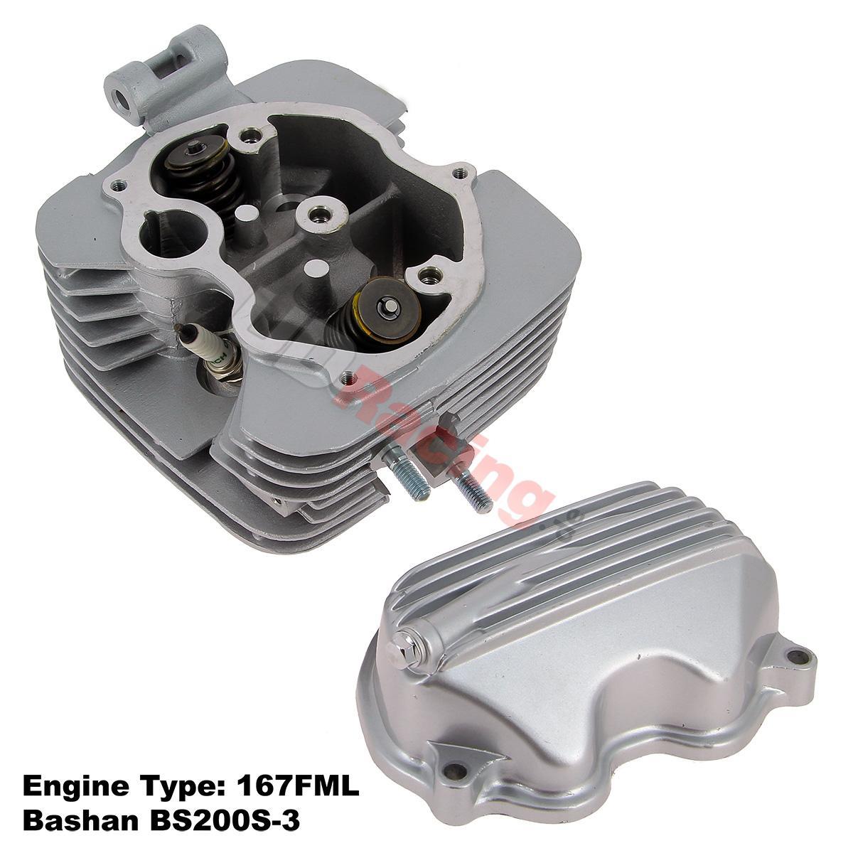 Zylinderkopf komplett für Quad Bashan 200ccm BS200S-3, Motor, Bashan ...