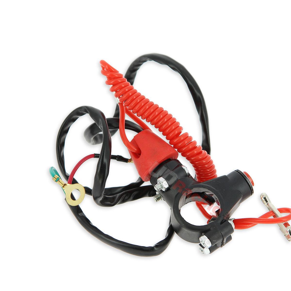 ausschalter automatik f r pocket bike rot z ndung. Black Bedroom Furniture Sets. Home Design Ideas