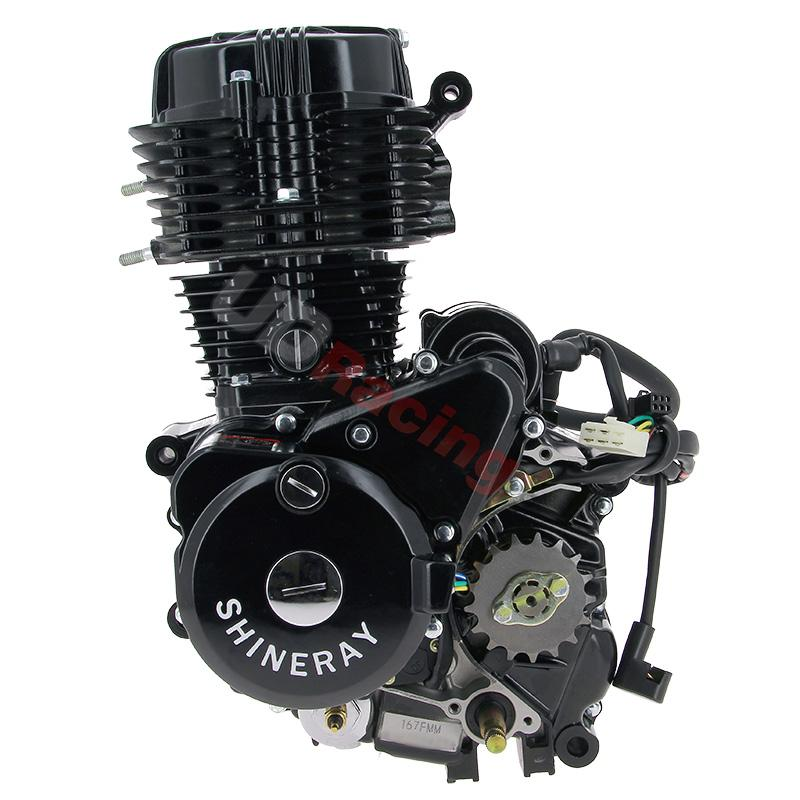 Motor für Quad Shineray 250 ccm STXE 167FMM, Motor, Zylinderkopf ...