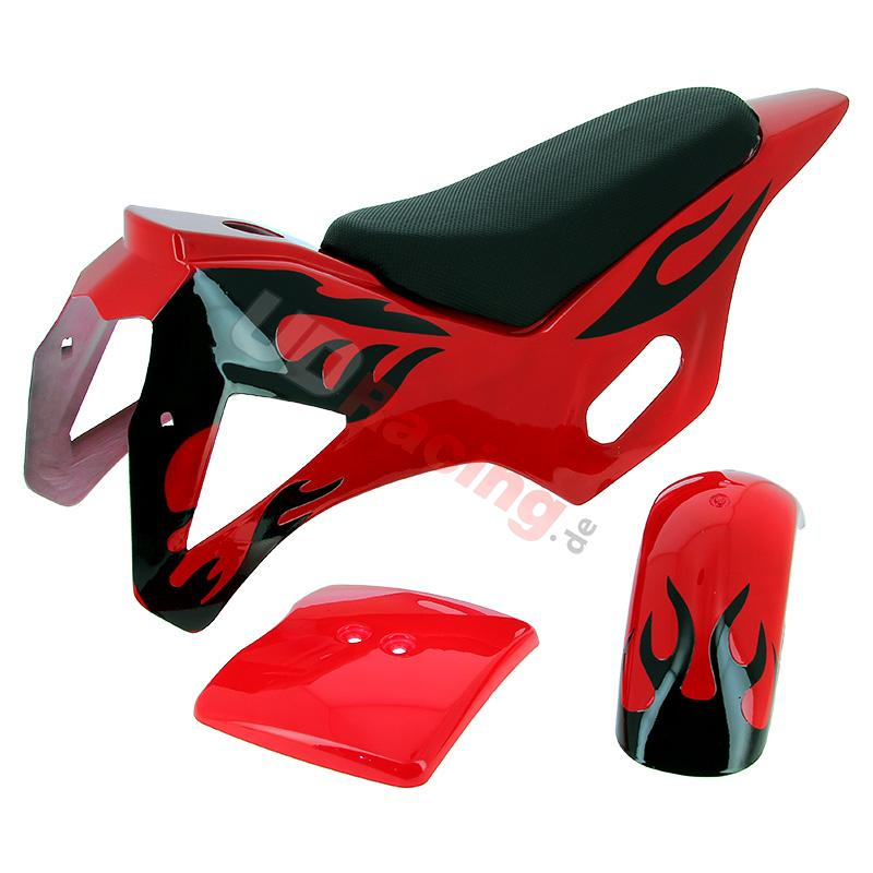 verkleidung pocket bike cross rot typ 1 verkleidung. Black Bedroom Furniture Sets. Home Design Ideas