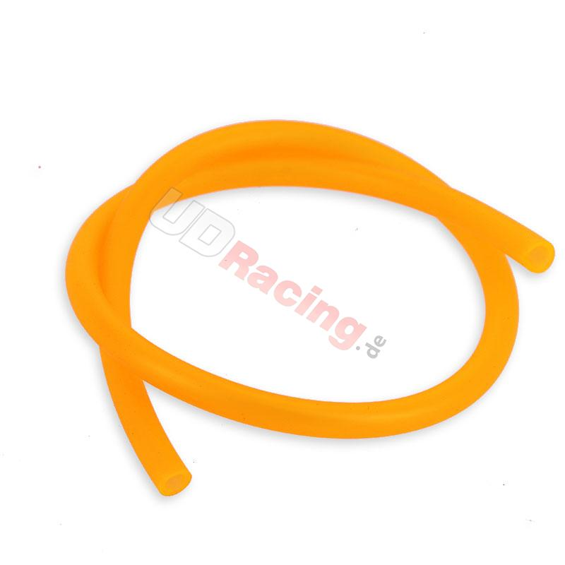 Fluo Orange 5mm Benzinschlauch , Dax Skyteam Skymax Teile