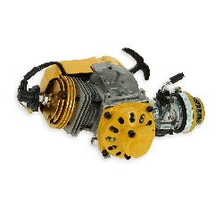 Motor komplett 53cc UD Racing für pocket Supermotard- Gelb - GOLD