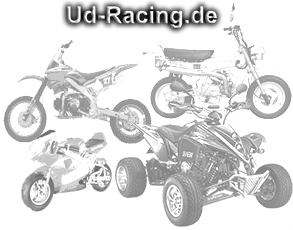 UD-Racing.de Teile für Dirtbikes, Pocketbikes, Shineray sowie Bashan-Quads, Pocketquad